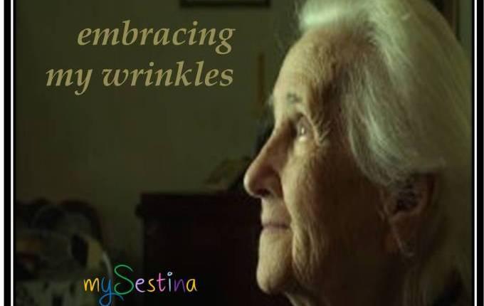 embracing my wrinkles