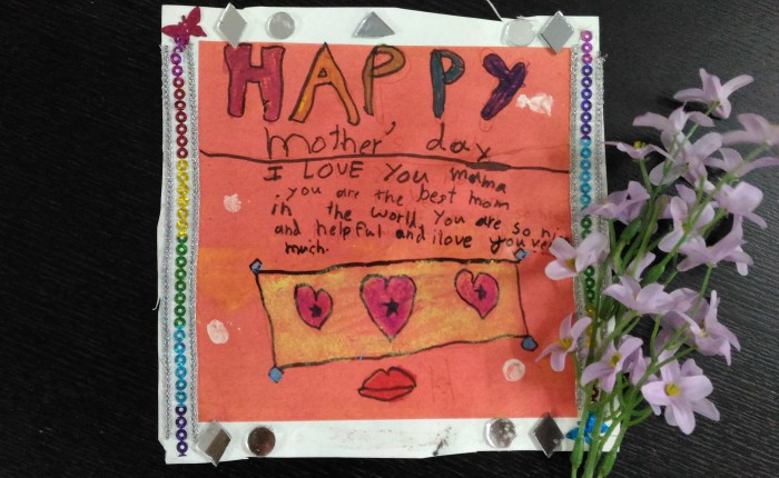 'mommy i love you' my daughter toldme