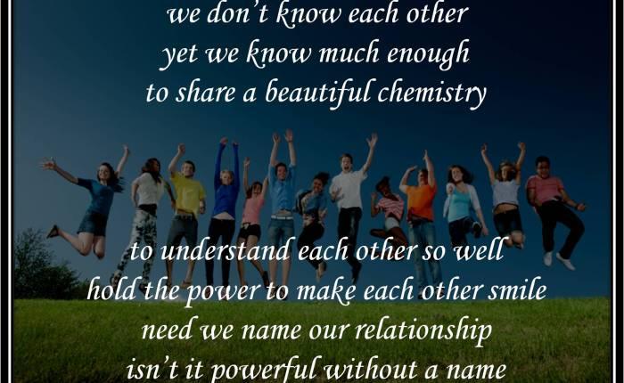Chemistry of WeBloggers