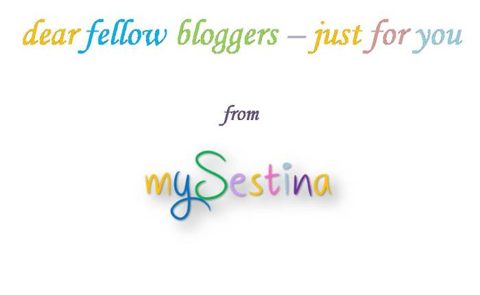 dear fellow bloggers – just foryou
