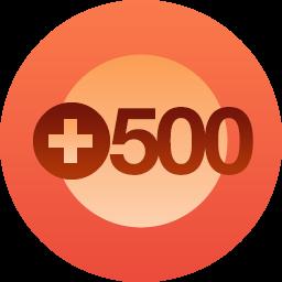 Celebrating 500 followers onmySestina