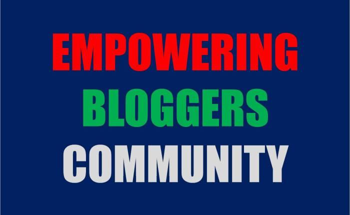 Empowering Bloggers Community